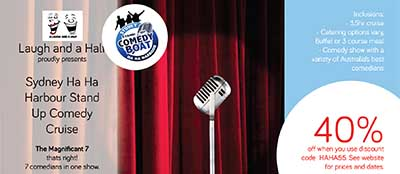 Sydney Comedy Cruise