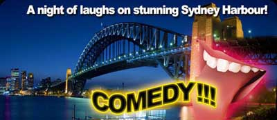 Stand up Comedy Dinner Cruise on Sydney Harbour