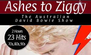 Ashes to Ziggy Cruise