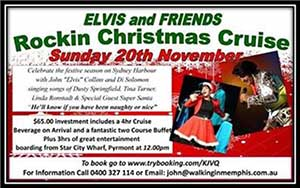 Elvis Christmas Cruise 20 November