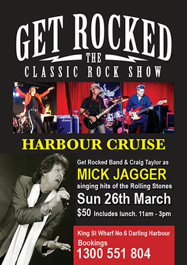 get rocked harbour cruise