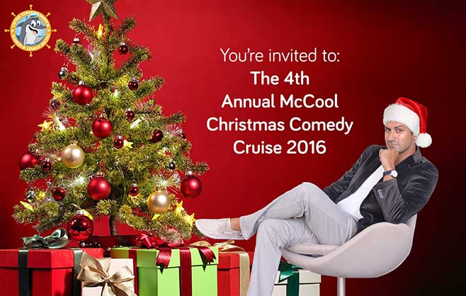 Sam McCool Comedy Christmas Cruise on Sydney Harbour
