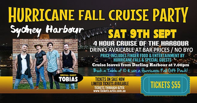 SydneyCruise Sep9 2017 Hurricane Fall