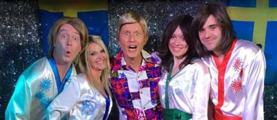 Bob Downe meets ABBA