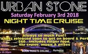Rhythmboat cruise Urban Stone