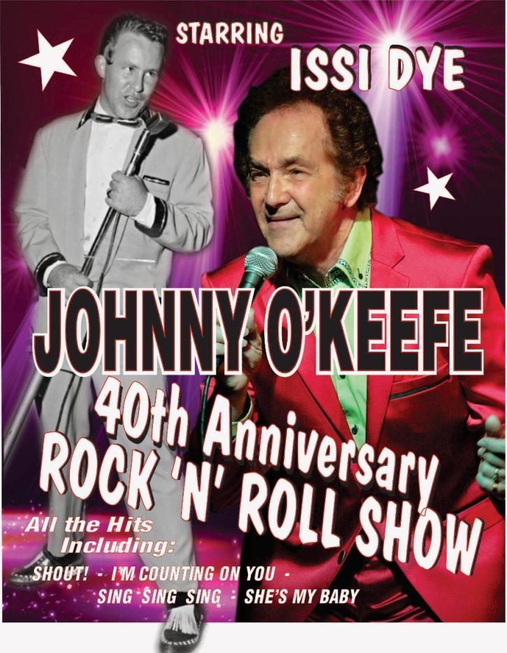 Issi Dye - Johnny O'Keefe Tribute Show on Darling Harbour