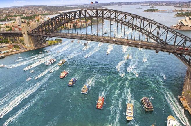 Australia Day Cruise Sydney Harbour