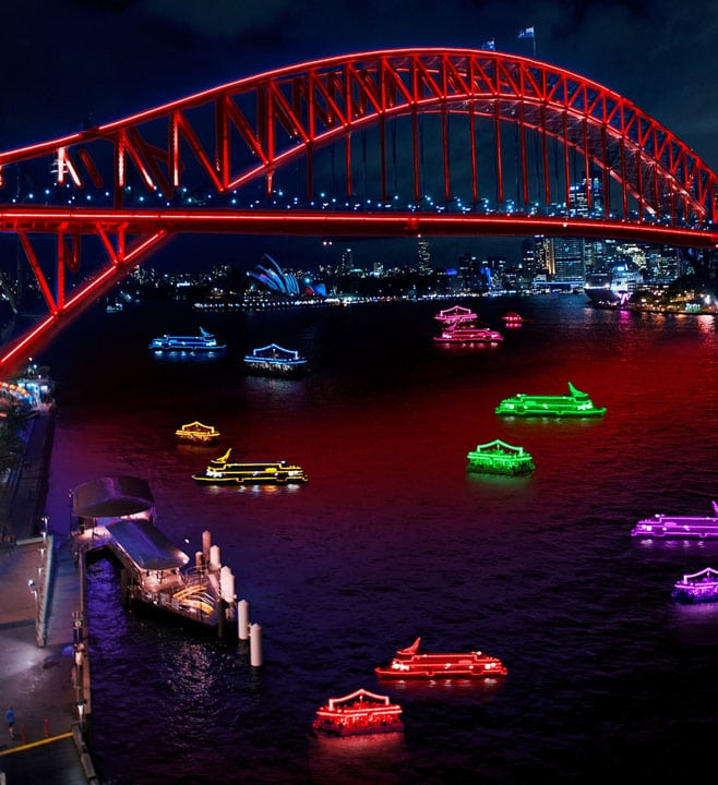 Cruise Sydney Harbour
