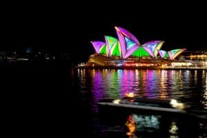 Vivid Sydney 2013 - Sydney Opera House sails light projection