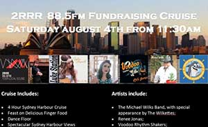 2RRR 88.5 Fundraising Cruise