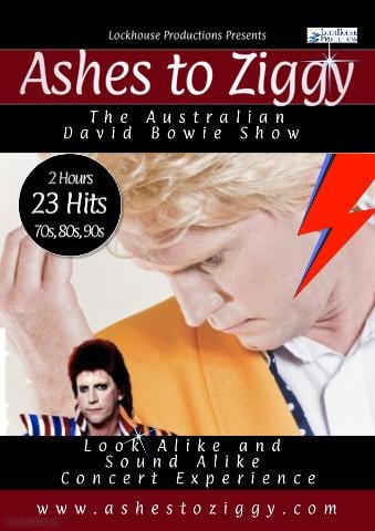 Ashes to Ziggy - Australian David Bowie Show