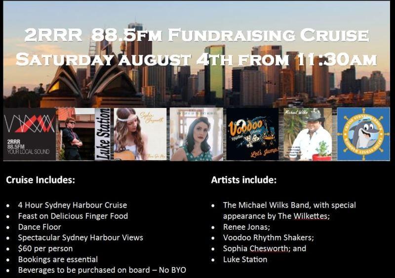 2RRR 88.5 Fundraising Cruises