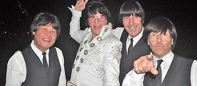 Beatles Meets Elvis Tribute Show & Dinner or Lunch Cruise
