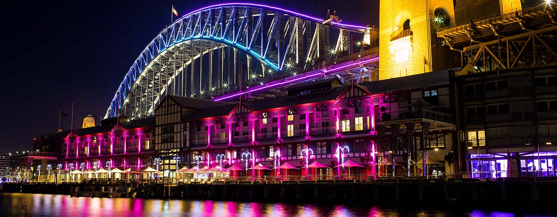 Vivid Sydney Harbour Cruise