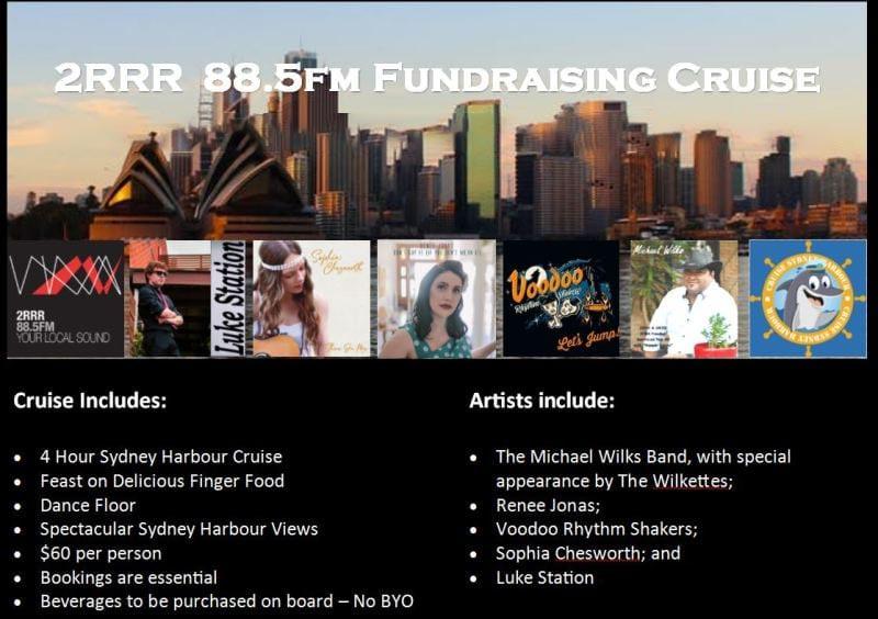 2RRR 88.5 Fundraising Harbour Cruise