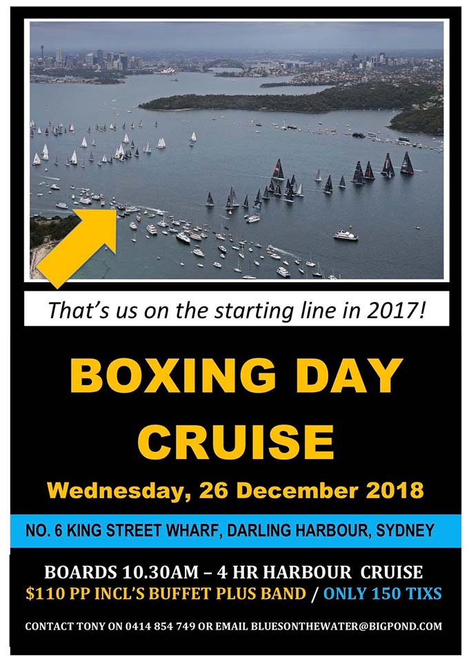 Boxing Day Sydney Harbour Cruise 2018