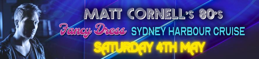 Matt Cornell's 80's Fancy Dress Cruise
