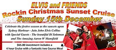 Elvis & Friends Rockin Christmas Sunset Cruise